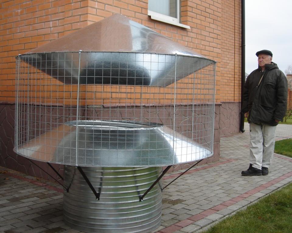 Вентиляционные дефлекторы своими руками фото